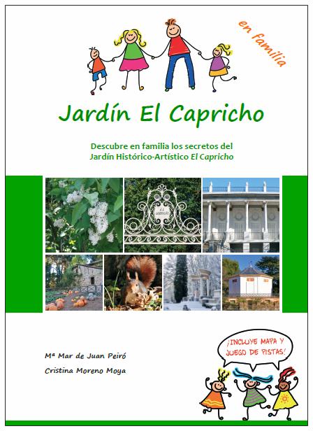 Portada Jardín El Capricho en familia